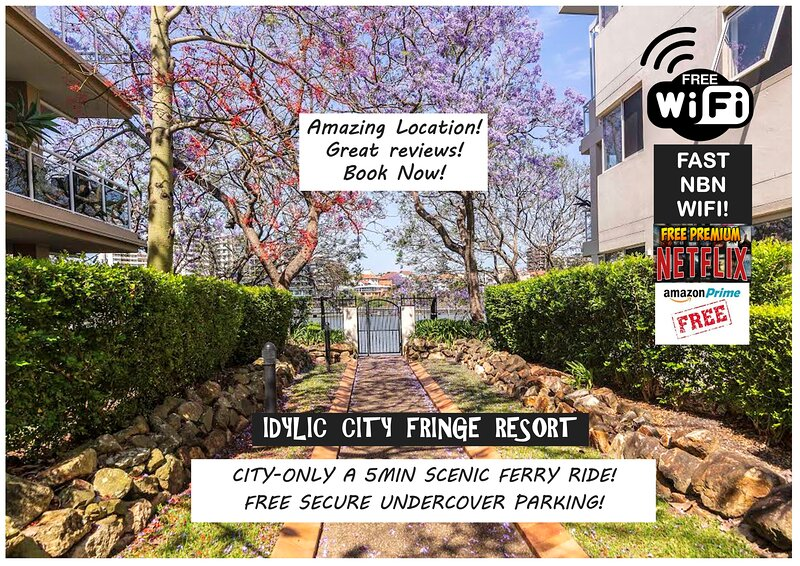 Bridgewater Kangaroo Point-Waterfront Resort Style Studio in Brisbane, location de vacances à Mount Gravatt