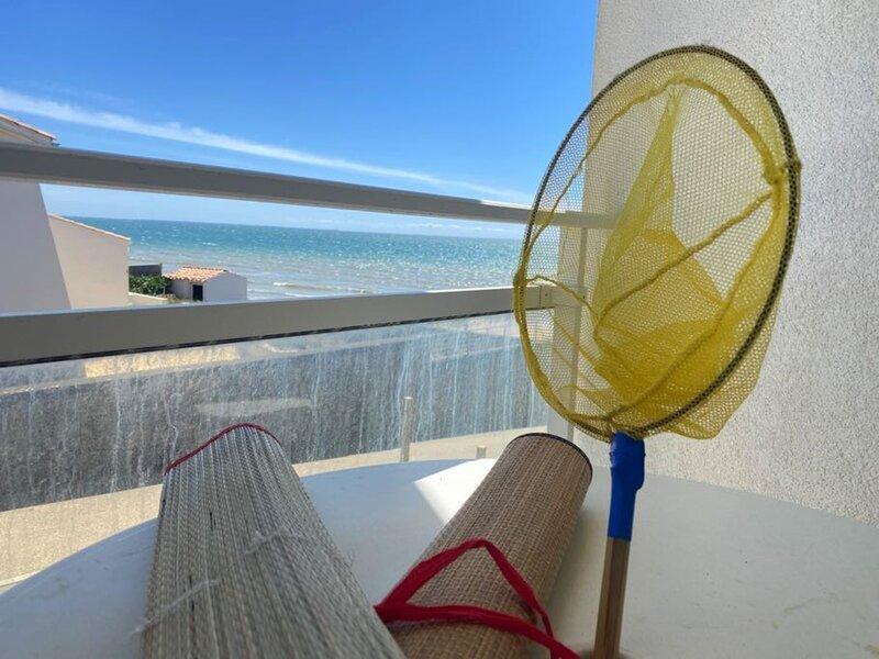 Appartement idéal pour profiter de la plage, et de la vue sur mer., location de vacances à Longeville-sur-mer