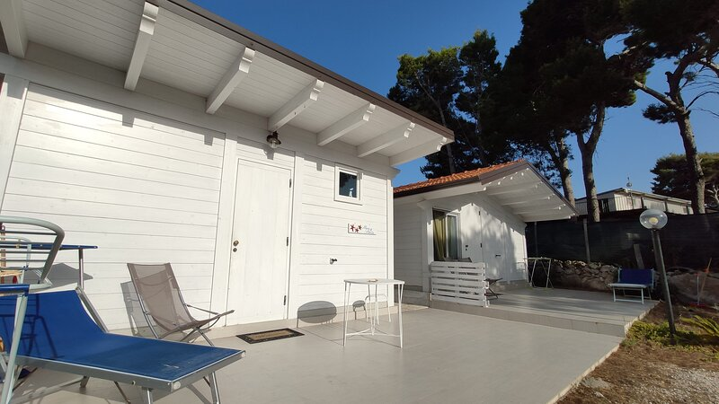Cottage Mare e Stelle, holiday rental in Marina di Lesina