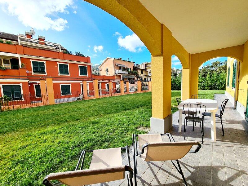 Apartment L - Garden - Levanto Cinque Terre, vakantiewoning in Legnaro