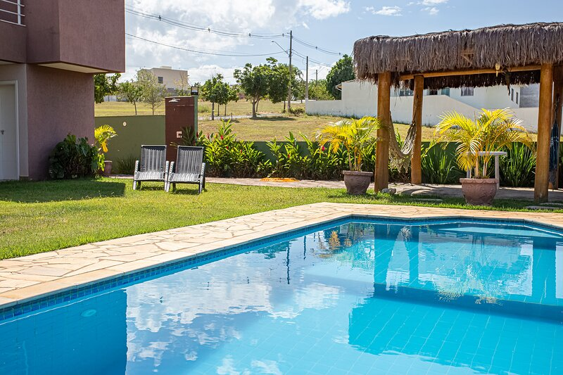 Casa de campo com Wi-Fi no Parque Aquático Thermas, holiday rental in Sao Pedro