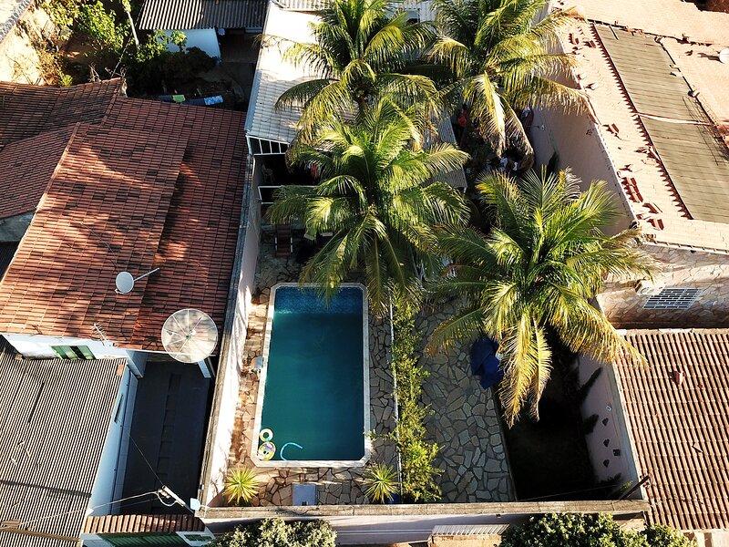 Casa com piscina, Wi-Fi e churrasq em Caldas Novas, alquiler vacacional en Caldas Novas