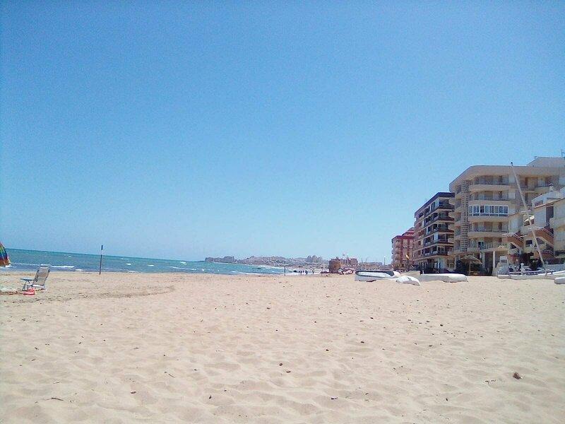Ferienwohnung direkt am Meer der Costa Blanca La Mata Spanien, holiday rental in La Mata