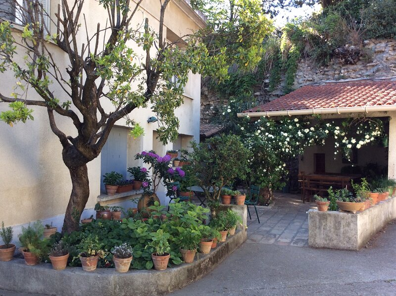 appartement de charme avec piscine, holiday rental in Nimes