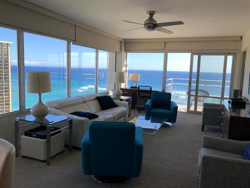 WOW endless oceanviews, aluguéis de temporada em Honolulu