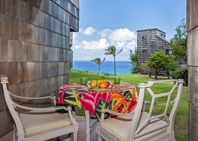 Sealodge F1 -  ocean views + ground floor convenience, cute inside,affordable, holiday rental in Kauai