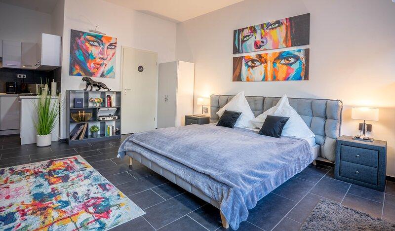 GelsenDesign-Apartment - Gemütliches Studio-Apartment, aluguéis de temporada em Essen