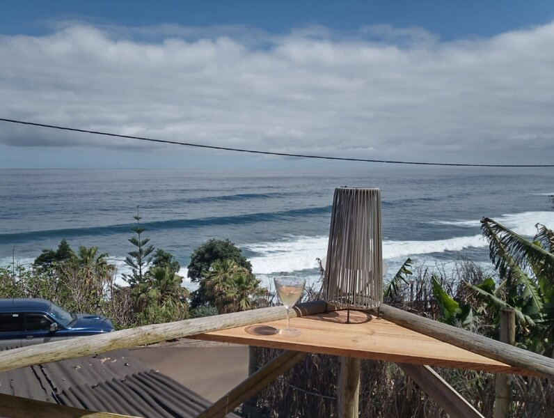 Amazing house with sea view, holiday rental in Santana