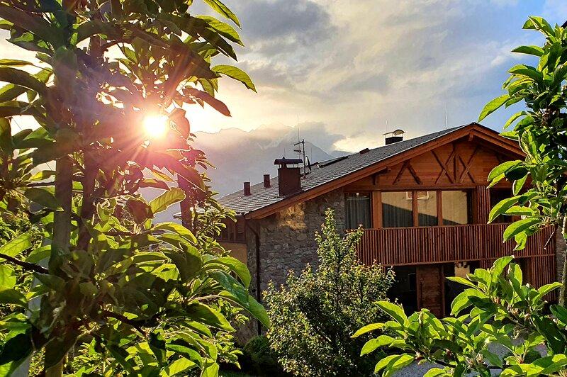 Apartment Bergfuir - Pröfinghof - Urlaub auf dem Bauernhof, Ferienwohnung in Ultimo (Ulten)