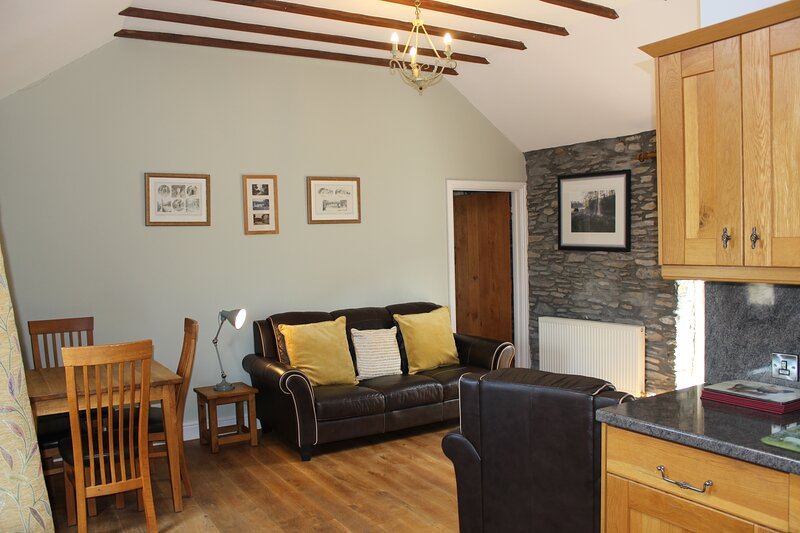 Byre Cottage on the edge of the Cambrian Mountains near Devil's Bridge Mid Wales, location de vacances à Pont-Rhyd-y-Groes