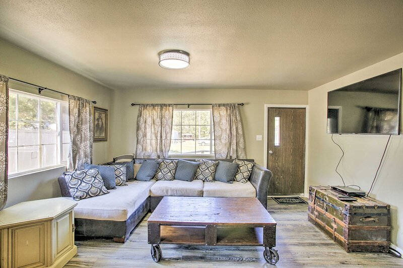 NEW! Kingston Sleeper: Unique Stay Near Silver Mtn, holiday rental in Wallace