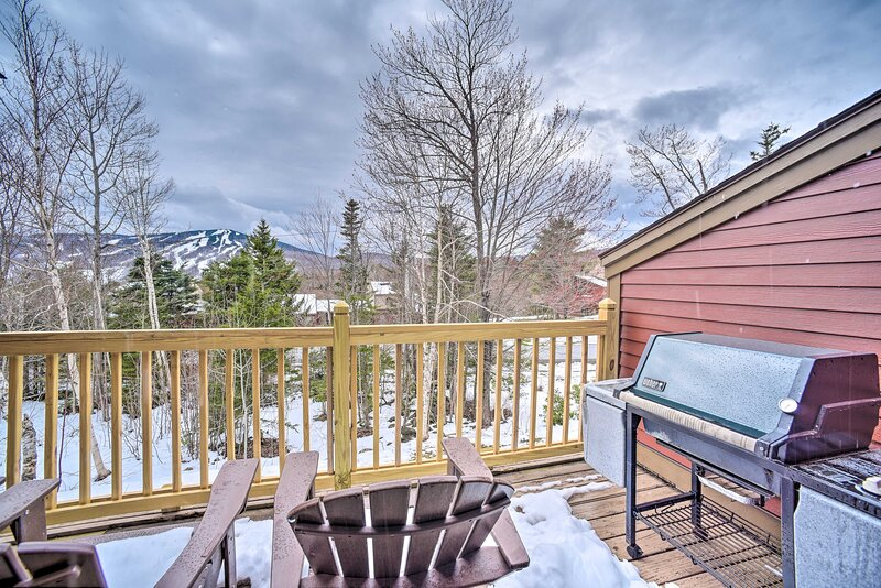 NEW! Family Ski Retreat w/ Sauna & Mt. Snow Views!, holiday rental in Wardsboro