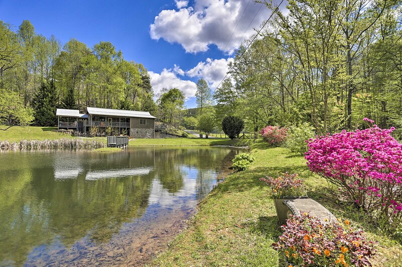 NEW! Georgia Mountain Home: Private Outdoor Oasis, holiday rental in Cherrylog