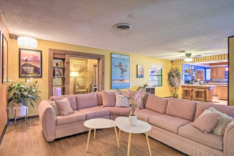 NEW! Vibrant Palm Bay 'Tropicana House' w/ Pool!, vacation rental in West Melbourne