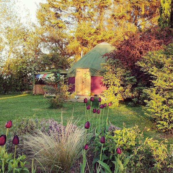 Kilgraston Farm Yurt, holiday rental in Newburgh