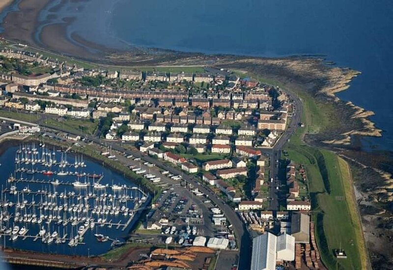 Marina View, lovely upper 3 bedroom apartment, vakantiewoning in Saltcoats