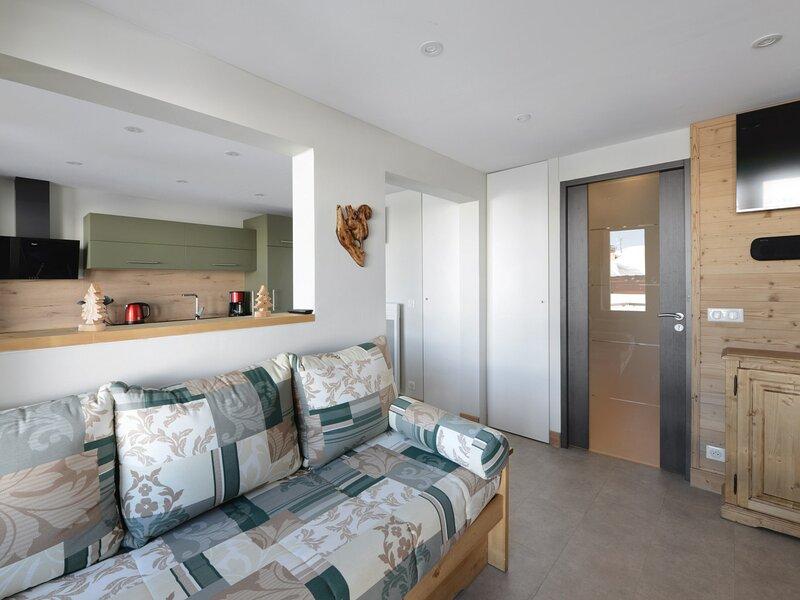 Studio avec cabine de  22m² pour 4 personnes récemment rénové, au pied des, vacation rental in Belle Plagne