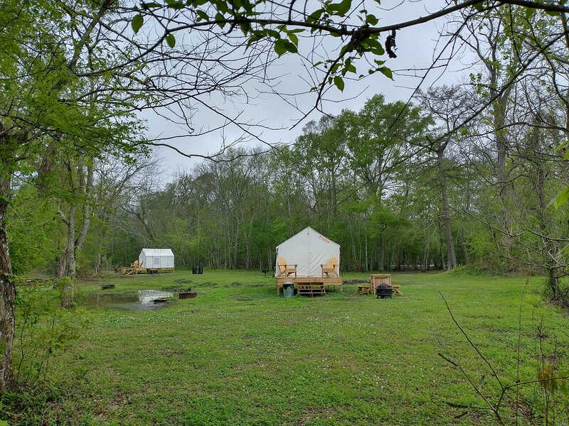 Tentrr State Park Site - Lake Fausse Pointe Double Campsite, vacation rental in Saint Martinville