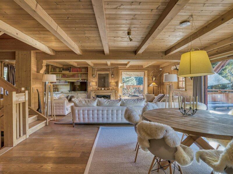 Location Chalet 6 Chambres MEGEVE MONT D'ARBOIS, alquiler de vacaciones en Megève