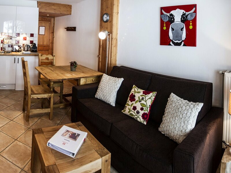VAL-D'ISÈRE - 2 pers, 23 m2, 2/1, holiday rental in Ceresole Reale
