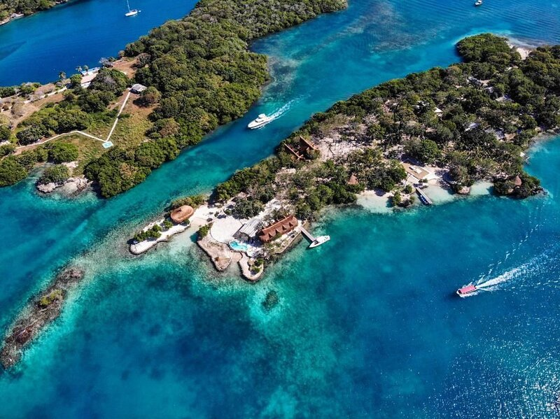 Car018 - Paradise island in Islas del Rosario, Cartagena, casa vacanza a Isla Grande