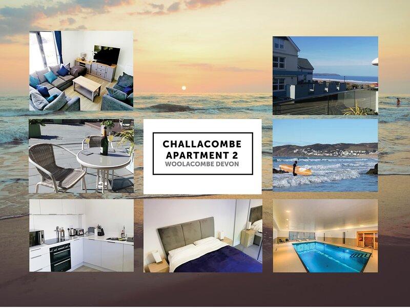 Challacombe 2, Woolacombe Byron Holiday Lets, casa vacanza a Mortehoe