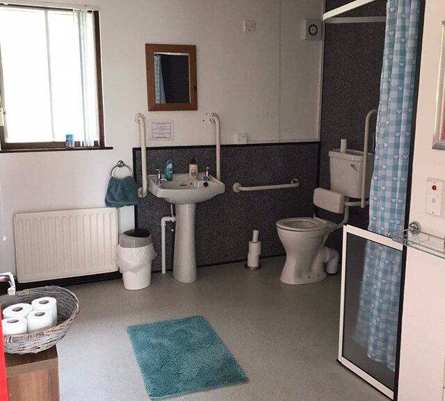 Wheel chair accessible en-suite