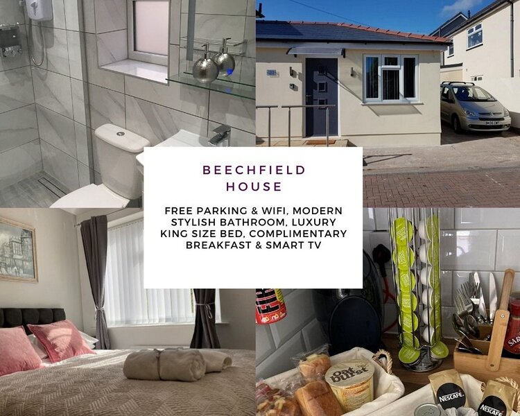 Private self-contained annex with Wifi & Parking, location de vacances à Cardiff