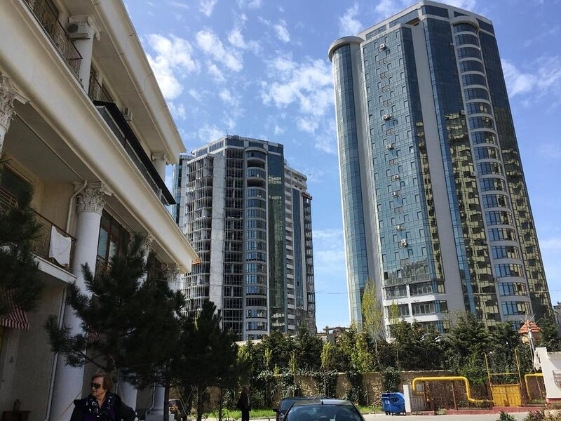Gagarin Plaza apartments Odessa вид на море, holiday rental in Arcadia