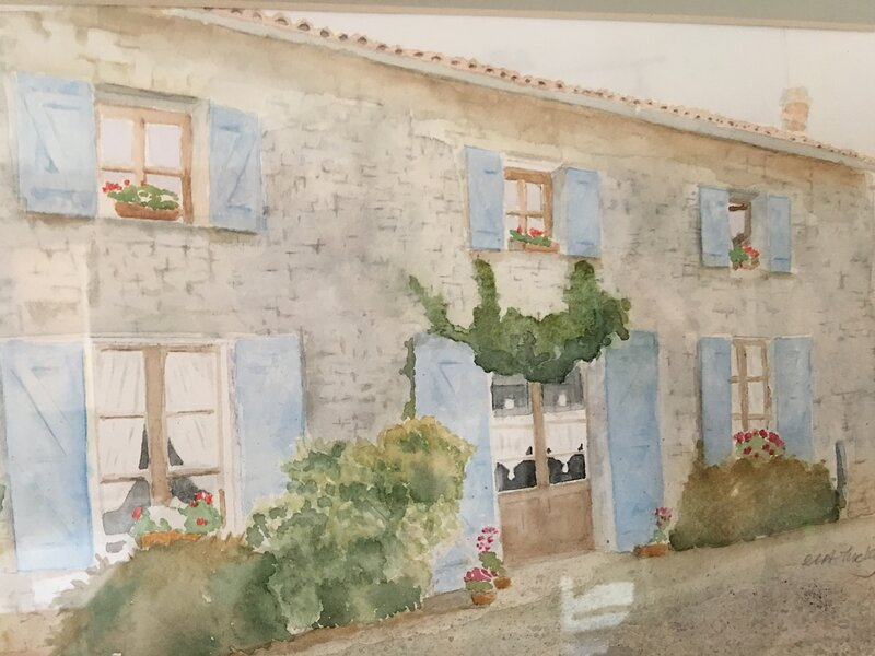 Chic Charentaise Cottage, holiday rental in Champagne Mouton