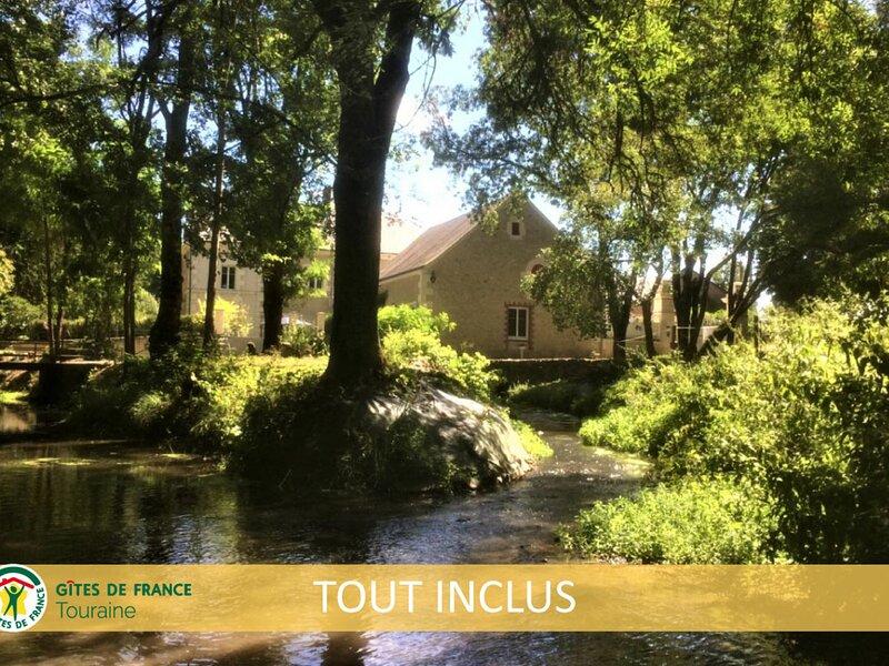 Les Moulins de Requeugne, vacation rental in Esvres