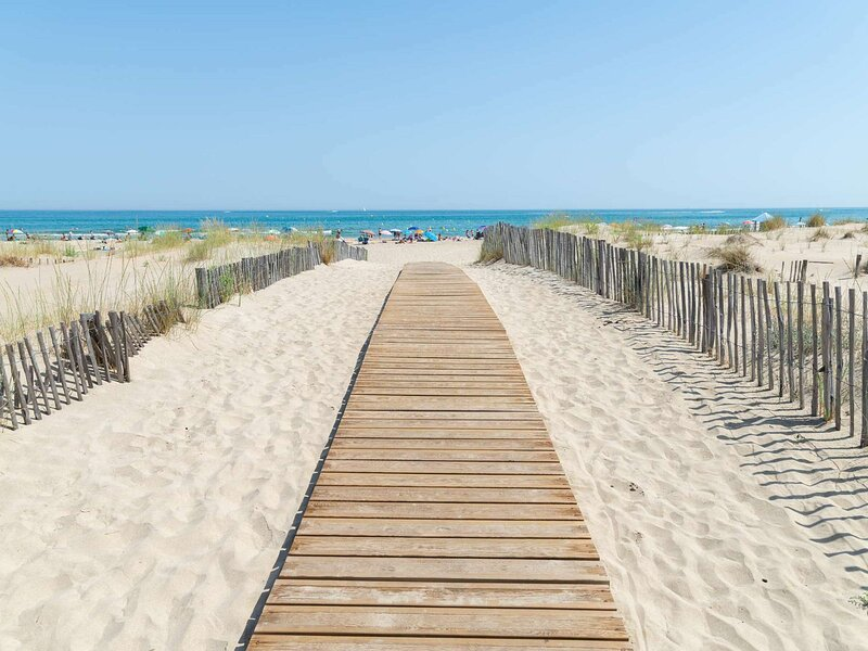 Résidence avec accès direct à la plage, alquiler vacacional en Marseillan