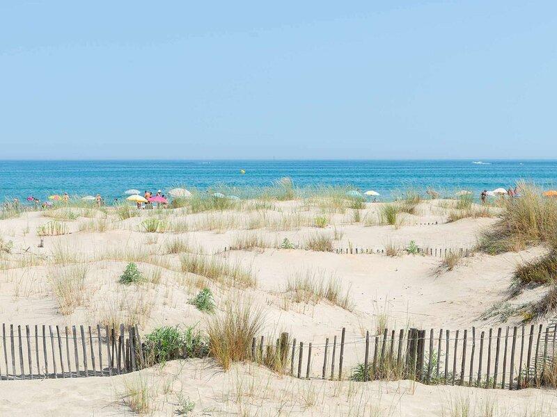 Résidence avec accès direct à la plage, Ferienwohnung in Marseillan