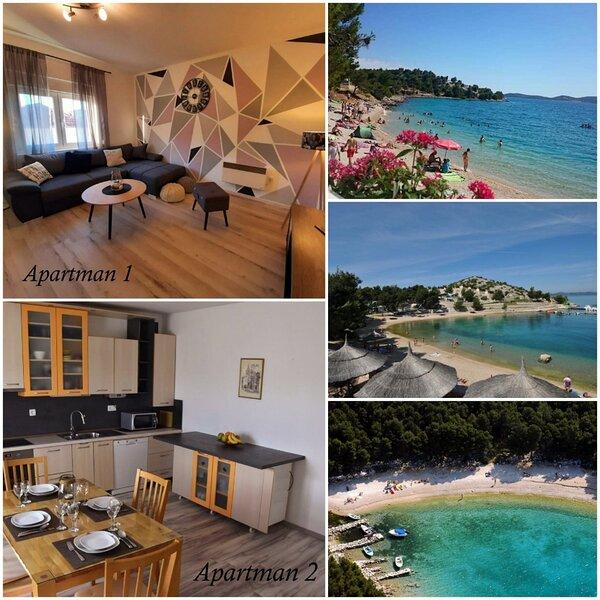 Ferienwohnung 5005-2 für 4 Pers. in Drage, vacation rental in Radosinovci