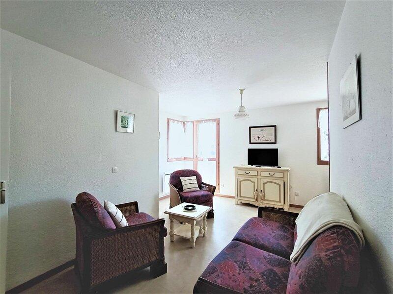 Charmant T2 très lumineux et spacieux !, location de vacances à Tresserve