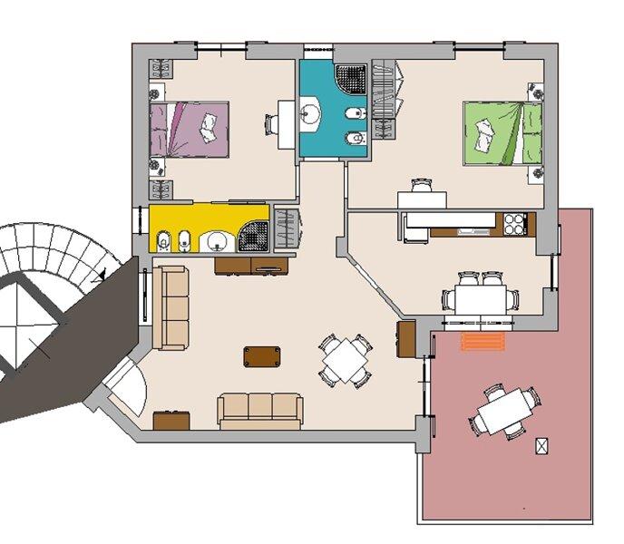 Residence La Vallonea KING B, vacation rental in Spongano