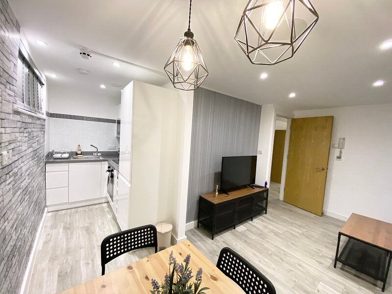 Lovely 1-Bed Apartment in Manchester, location de vacances à Manchester
