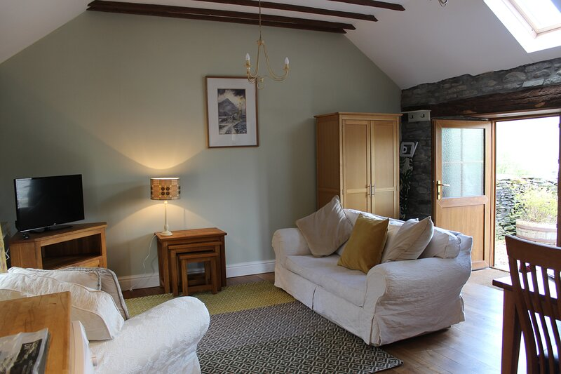Stable cottage in the Cambrian Mountains of Mid Wales near Devil's Bridge, location de vacances à Pont-Rhyd-y-Groes