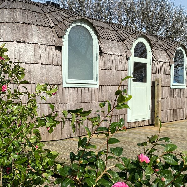 Lydcott Glamping: Prosecco - luxurious glamping nr Looe, Cornwall, holiday rental in Seaton