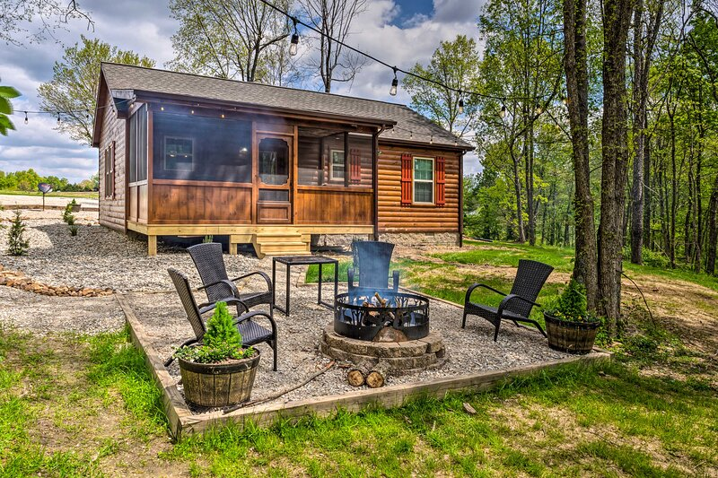 NEW! 'Almost Heaven' Farmers Paradise on 50 Acres!, holiday rental in Bowling Green