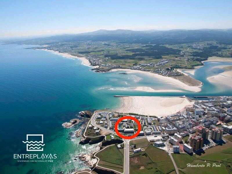 VIVIENDA DE 3 HAB.PLAZA E GARAJE, TERRAZA,PISCINA, holiday rental in Province of Lugo
