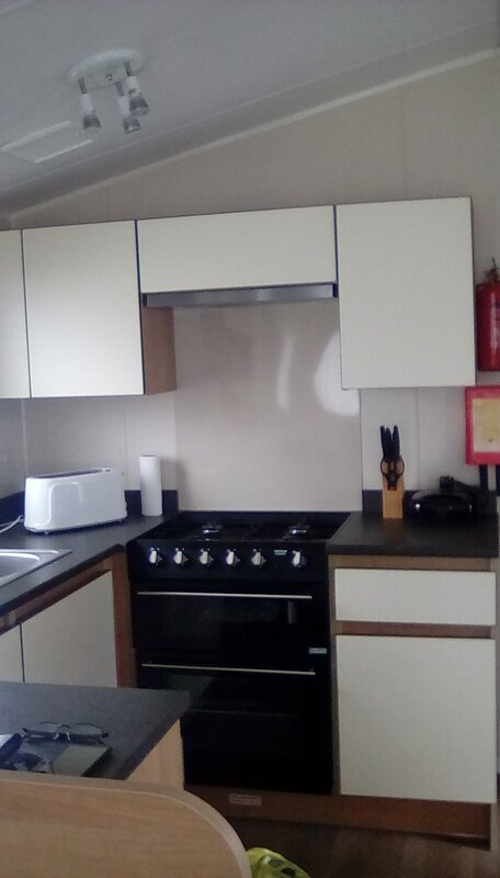 Caravan in n Wales town rd lovely 6berth can central heating double glazing Fren, location de vacances à Trafford