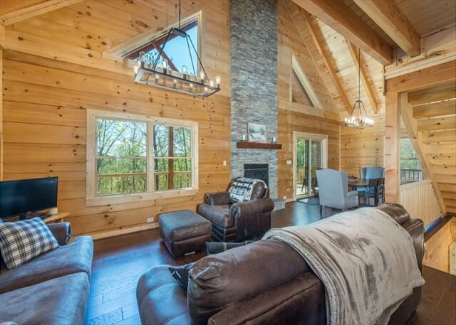 Shortoff Mountain Retreat | Secluded Cabin with Access to Outdoor Activities, vacation rental in Morganton