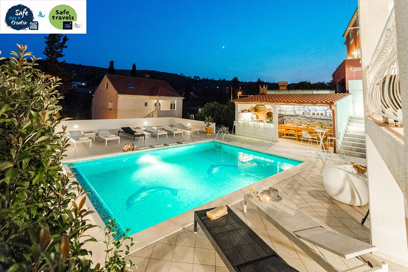 Vila Paula-Private residence near Dubrovnik, casa vacanza a Mlini