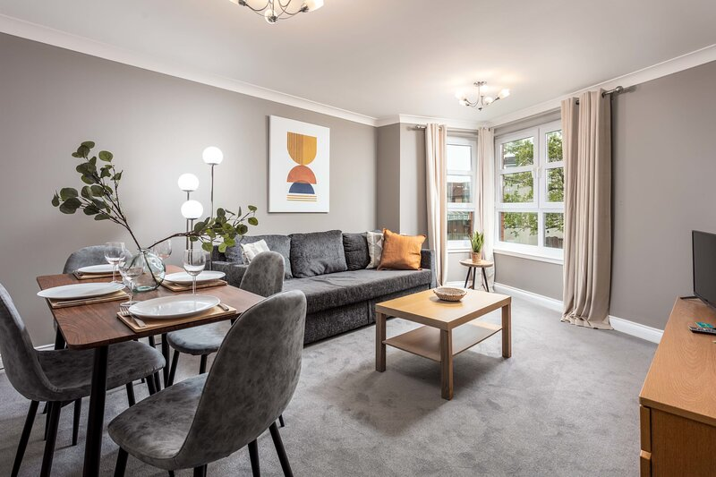 Elms Way No33 - Donnini Apartments, aluguéis de temporada em Prestwick