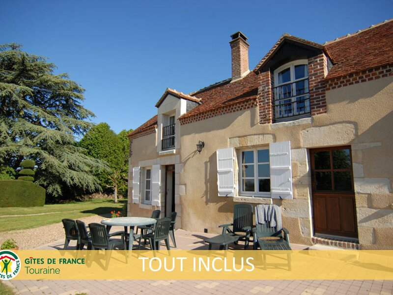 Gîte de la Touche, holiday rental in Cangey