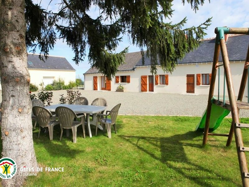 La Bourgognerie, holiday rental in Le Lude