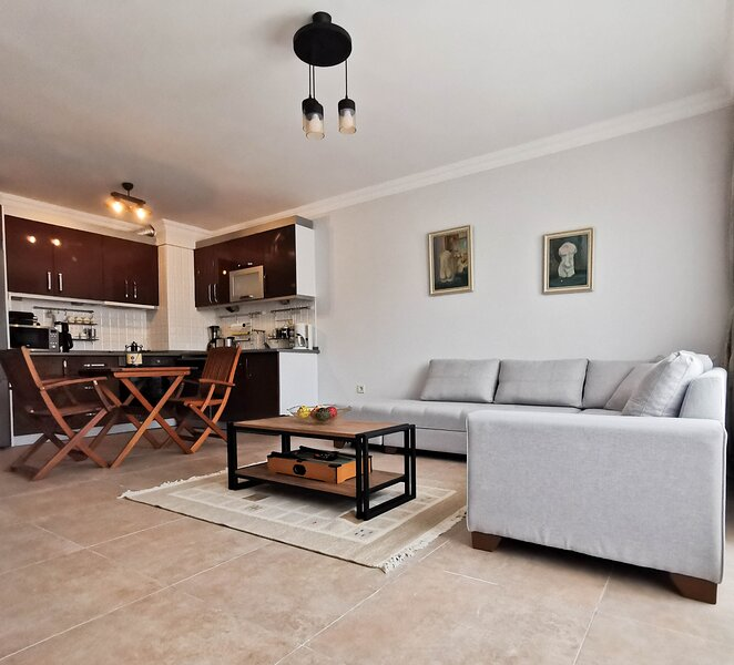 4+1 spacious apartment with sea view. 5 minutes walk to the beach, holiday rental in Palamutbuku