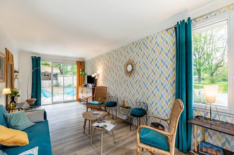 Carré Vintage - maison avec jardin proche Laon, location de vacances à Mons-en-Laonnois