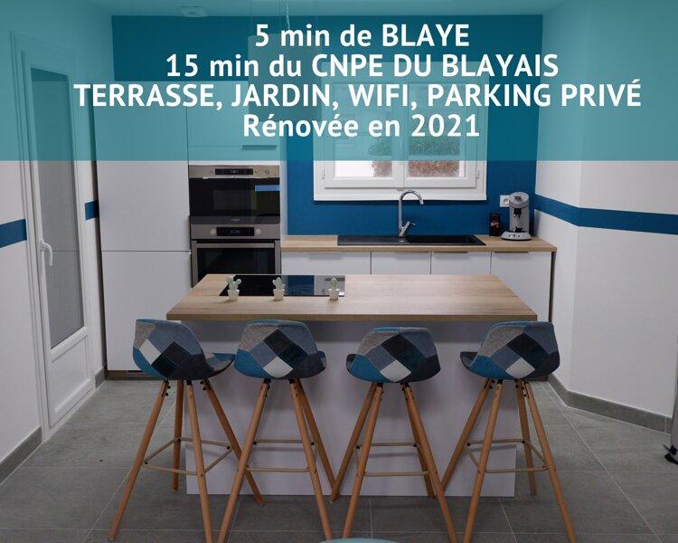 Jolie MAISON meublée 'LE CARRELET DE L'ESTUAIRE', holiday rental in Reignac